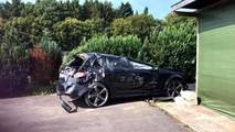 Audi RS3 Crash