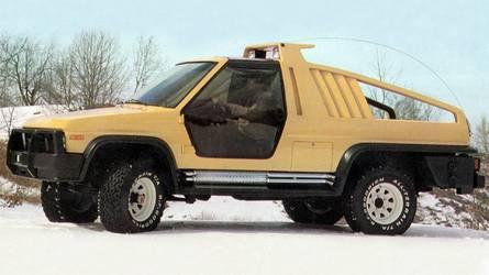 1981 Ford Bronco Montana Lobo, 1988 Bronco DM-1: Concept We Forgot