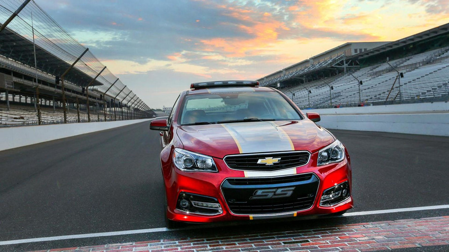 Chevrolet SS Pace Car unveiled for the John Wayne Walding 400