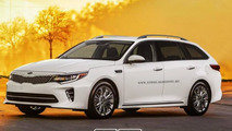 Kia Optima Wagon render
