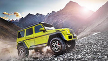 Mercedes G 500 4x4² concept gets detailed