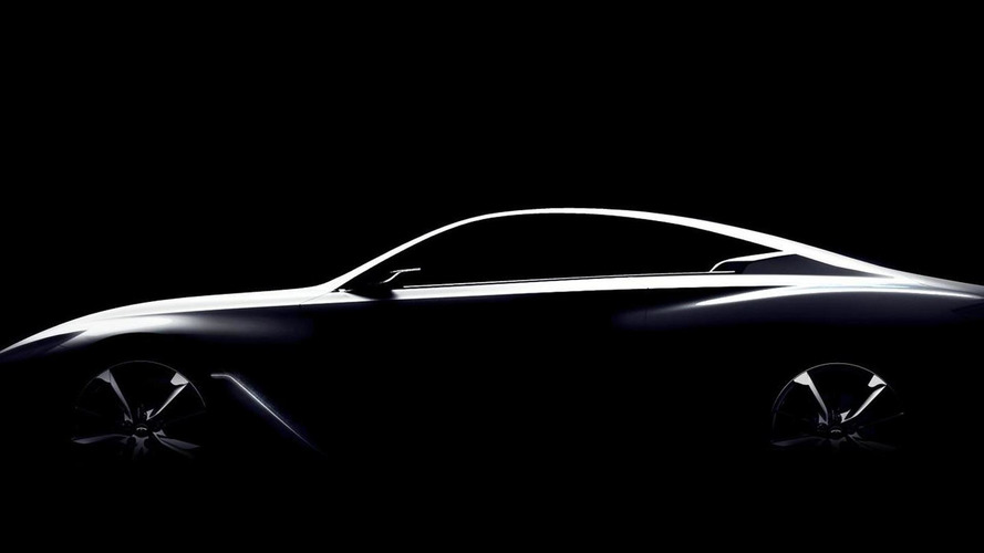 Infiniti Q60 concept teased ahead of NAIAS reveal