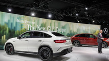Mercedes GLE63 AMG Coupe / Mercedes GLE63 AMG S Coupe live at NAIAS
