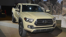 2016 Toyota Tacoma live at NAIAS