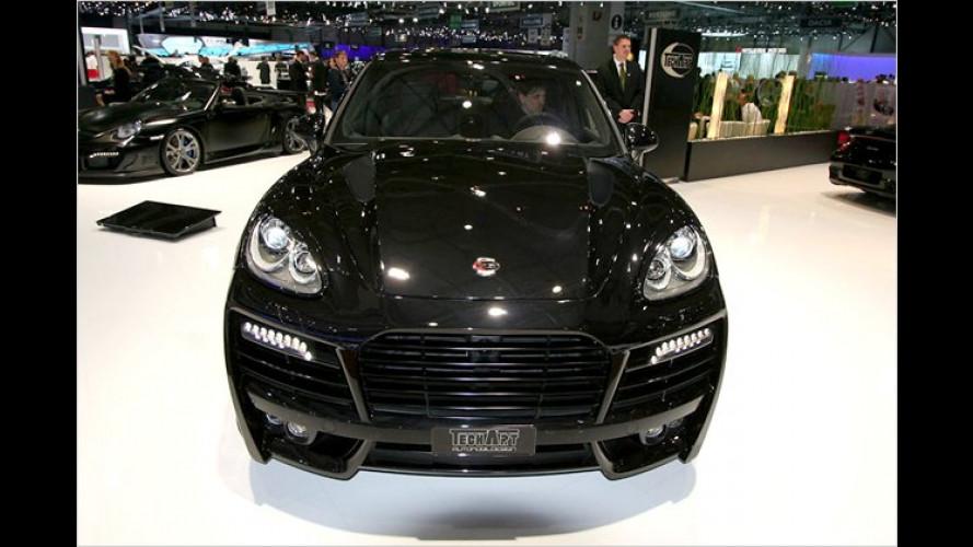 Vollformat: Porsche Cayenne Turbo als TechArt Magnum