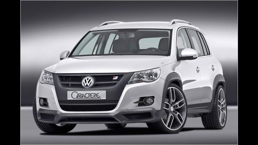 Mit Caractère: Sportstyling für den VW Tiguan