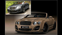 Bentley in Kraft-Montur
