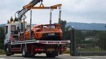 Prince Marcus crashes Gemballa Carrera GT
