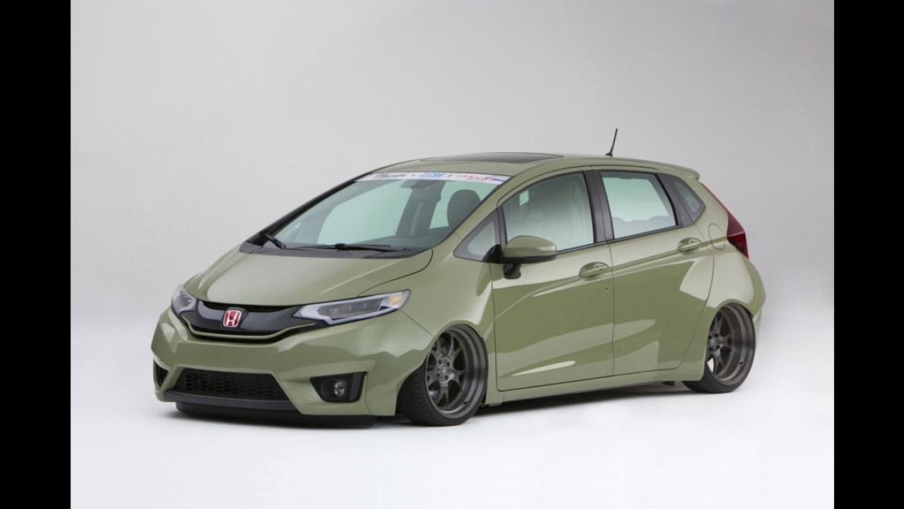 Honda mostra nove versões customizadas do Fit 2015 no SEMA