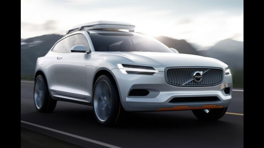 Salão de Detroit: Volvo XC Coupé Concept antecipa nova geração do XC90
