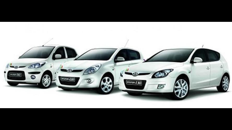 Itália: Hyundai i10, i20 e i30 FIFA World Cup Limited Edition
