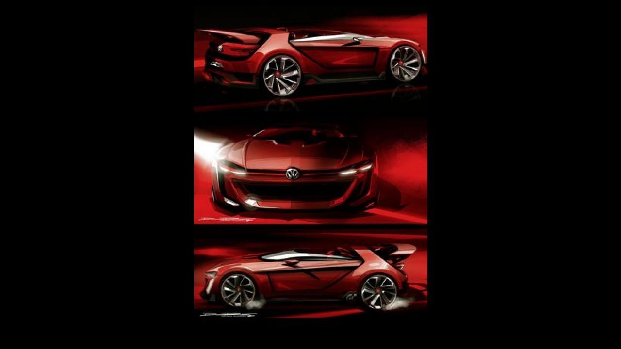 VW GTi Roadster Concept vai aparecer no mundo real antes de estrear nos games