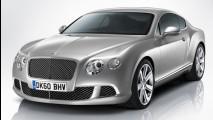 Bentley Continental GT 2012 - Novo visual e motor W12 bicombustível