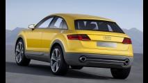 Audi TT Offroad terá versão de produção com possível nome de TTQ