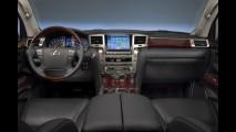 Salão de Detroit: Lexus apresenta jipão de LX570 2012