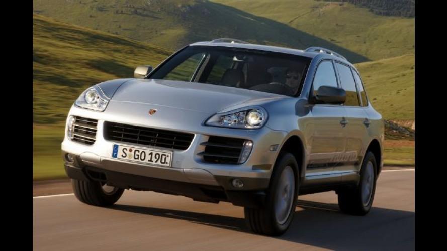Vendas mundiais da Porsche crescem quase 60% no 1º semestre