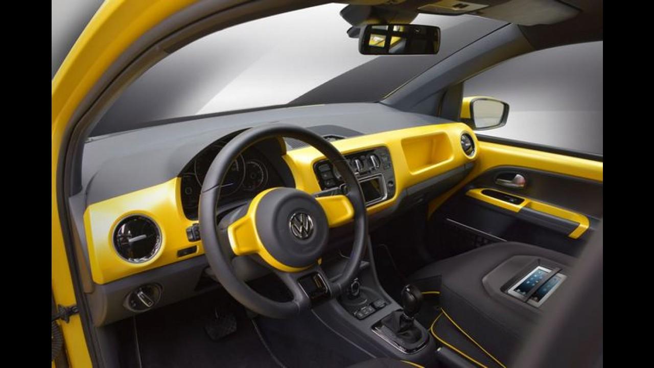 VW e-load up! - versão de produção do up! furgão é mostrada na Alemanha