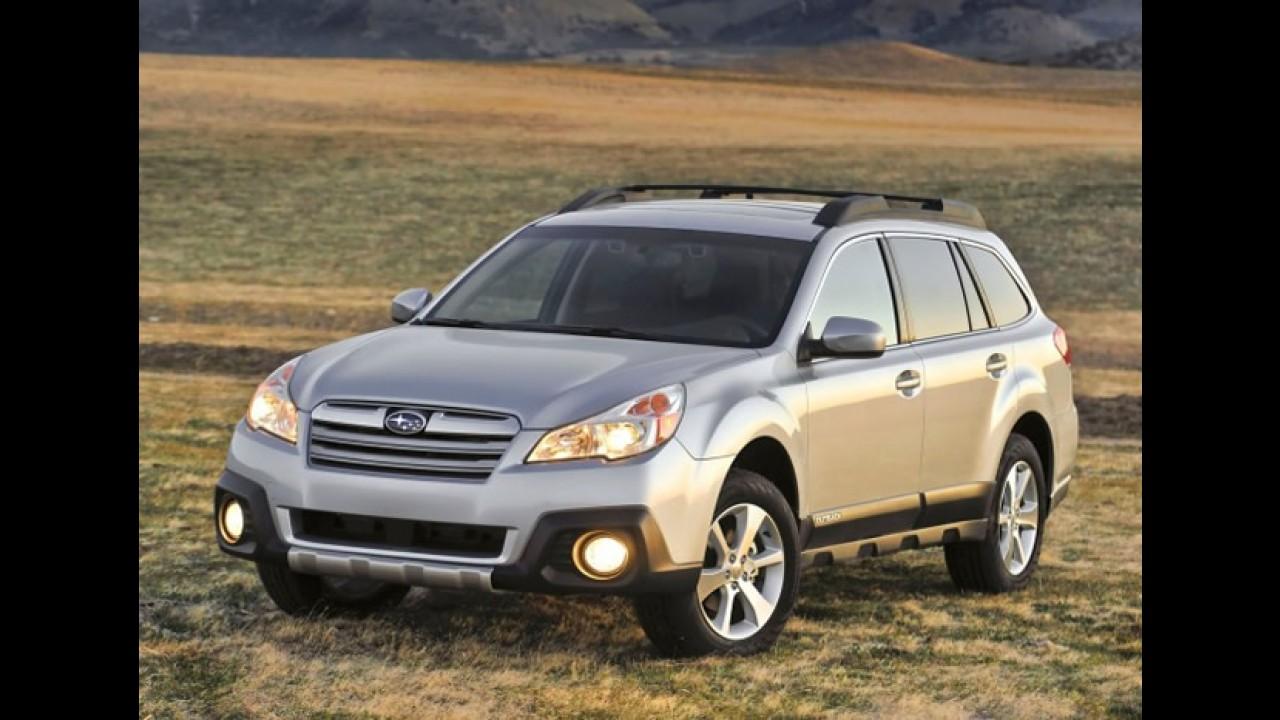 Subaru Legacy e Outback 2013 são revelados nos Estados Unidos