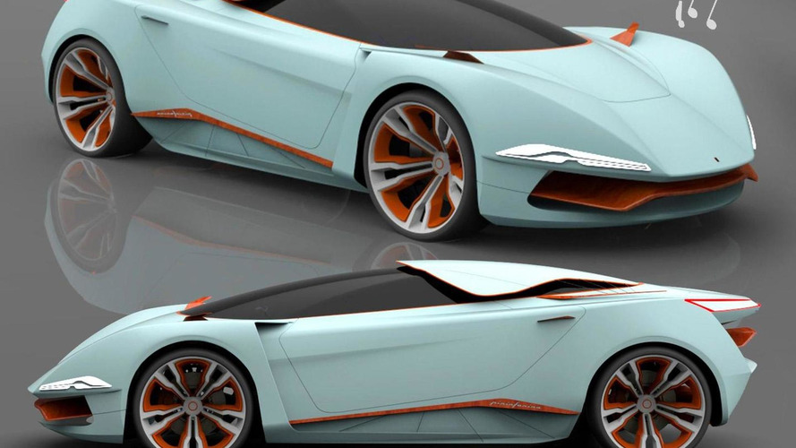 Pininfarina Chords Concept rendered