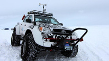 Toyota Hilux Conquers Antarctica On Jet Fuel 30.03.2012