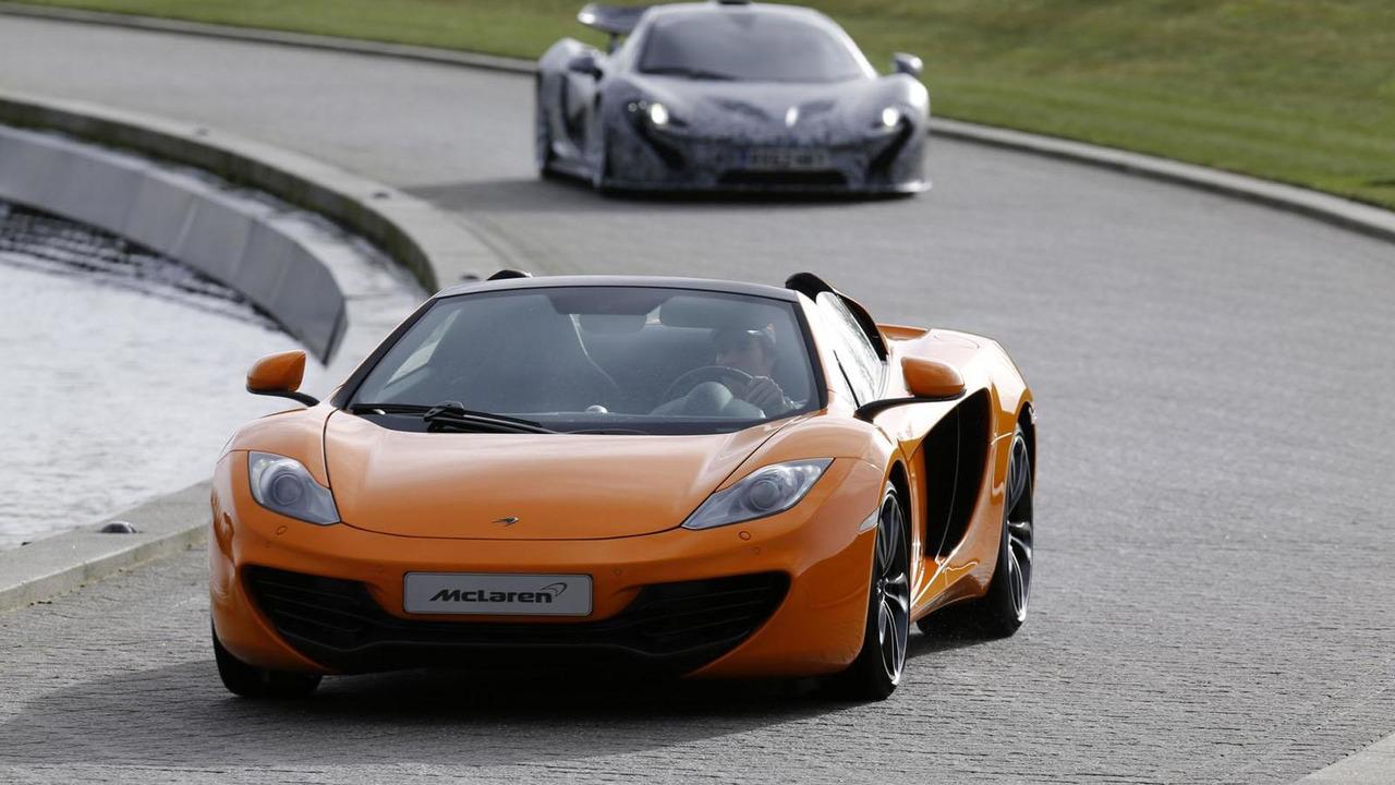 McLaren P1 prototype 31.1.2013