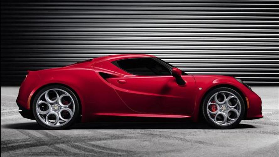 Alfa Romeo 4C, nuove foto e informazioni ufficiali