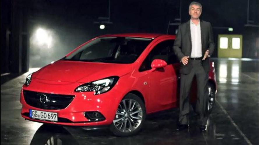 Il design della nuova Opel Corsa in diretta YouTube