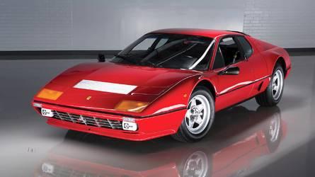 Ferrari Berlinetta Boxer, el primero con motor V12 trasero