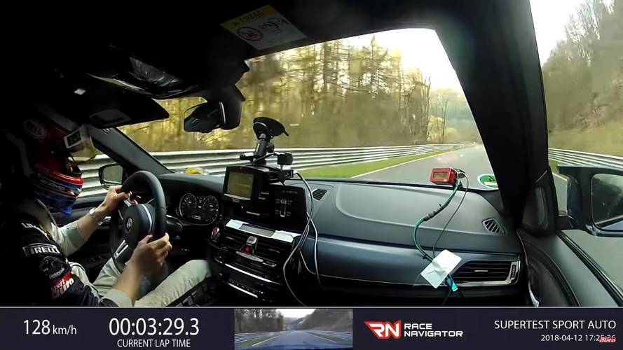 Watch The 2019 BMW M5 Lap The Nurburgring In 7:38.92