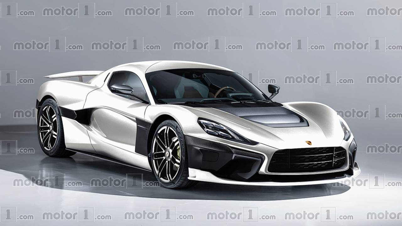 Porsche And Rimac S Electric Hypercar Imagined In New Rendering