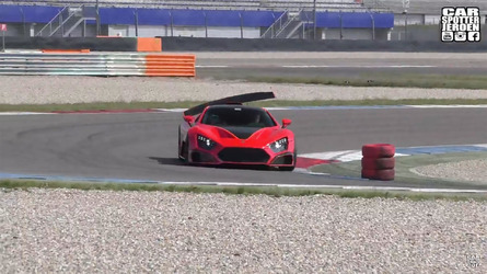 Zenvo TSR-S Active Rear Wing Movement Is Utterly Amazing