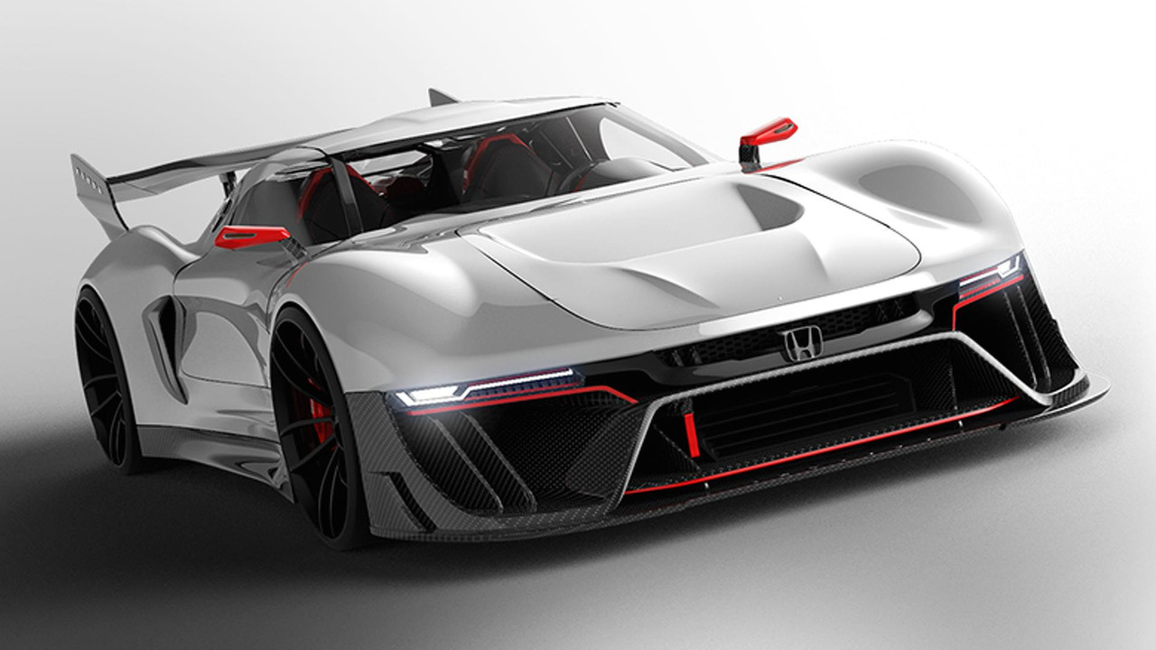 Designer Envisions A Track Only Honda Hypercar For
