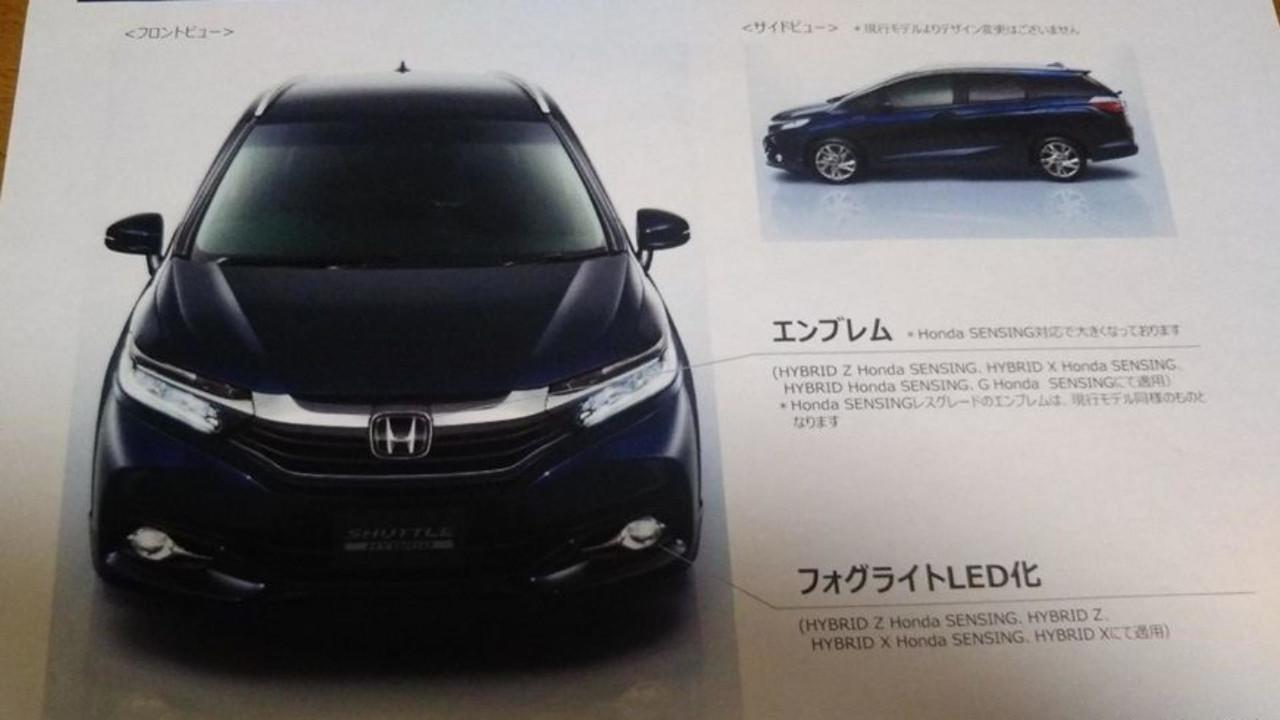 Honda Fit Shuttle - Japão