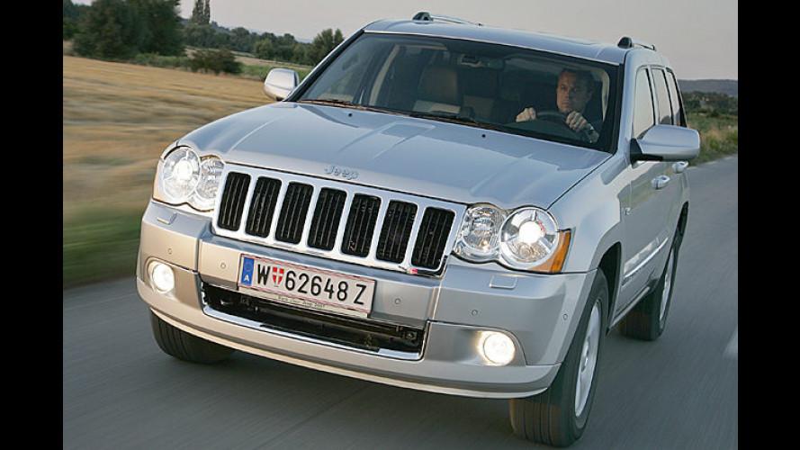 Preise des neuen Jeep Grand Cherokee jetzt bekannt