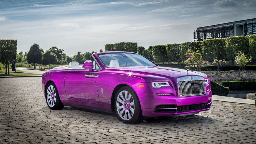 Rolls-Royce Dawn In Fuxia Is A Play On Words