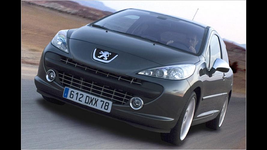 Peugeot 207 RC: Kleiner Löwe wird zum schnellen Gepard