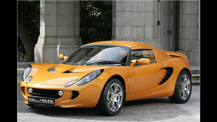 Tokyo Motor Show 2007: Lotus präsentiert Elise SC