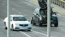 2018 Acura TLX Refresh Spy Photos