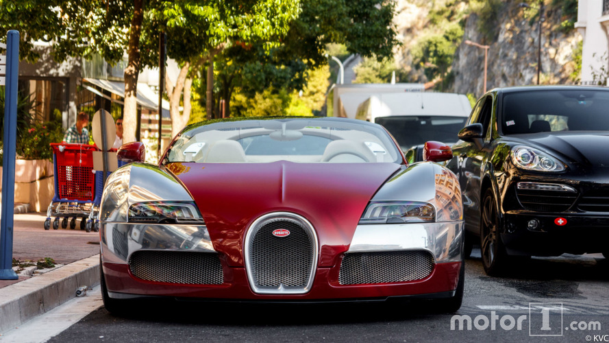 PHOTOS - L'une des Bugatti Veyron saisies dans l'affaire des
