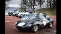 Jaguar leva nove veículos históricos para Mille Miglia 2015