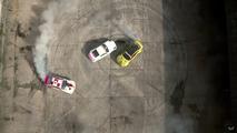 VIDÉO - Une Nissan et deux BMW dans une ex-base soviétique