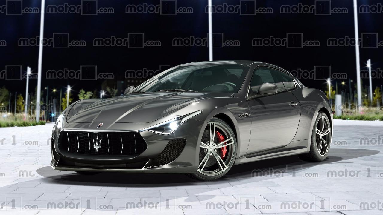 2018 Maserati GranTurismo render