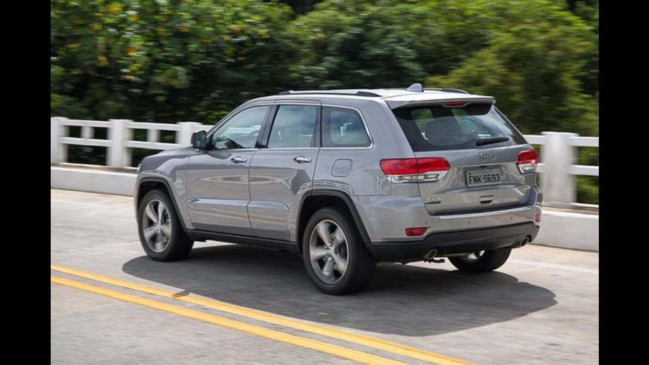 Mais um: Jeep convoca terceiro recall para o Grand Cherokee só neste ano