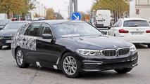 2017 BMW 5 Series Touring spy photo