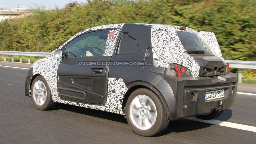 2013 Opel Allegra/Junior - new city car - spied