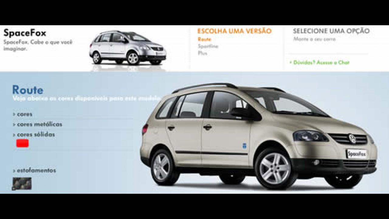 Volkswagen exibe SpaceFox Route em seu site - Mas não vai mudar?