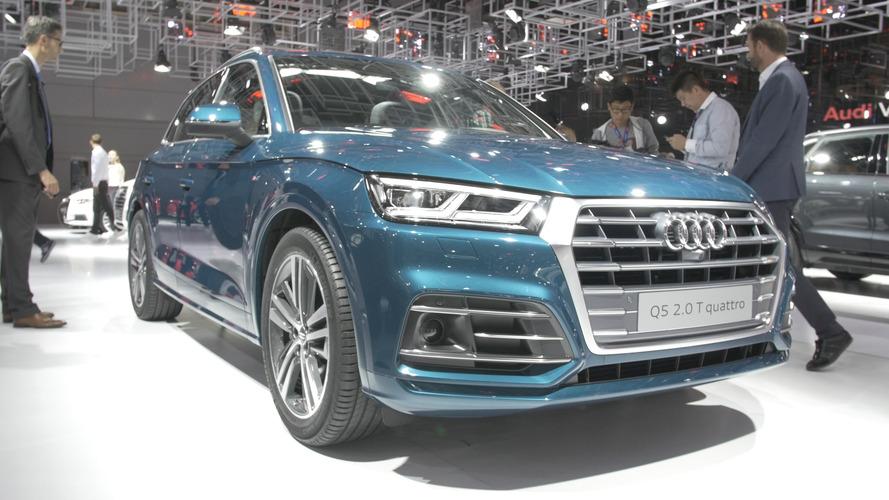 Video: 2017 Audi Q5 2016 Paris Otomobil Fuarı'nda