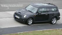 New MINI wagon spy photos