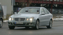 New Mercedes E-Class facelift spy photos