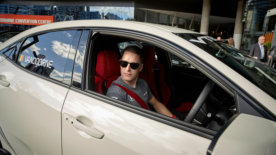La Honda Civic Type R avec Stoffel Vandoorne en Australie